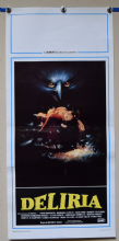 Stage Fright Horror Poster - Italian locandina